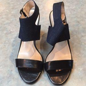 Nine West denim sandals